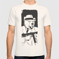 Untouchable California L… Mens Fitted Tee Natural SMALL