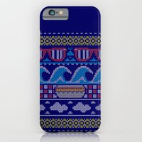 iPhone & iPod Case featuring Ugly Summer Sweater by David Schwen