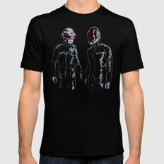 The Robots Mens Fitted Tee SMALL Black
