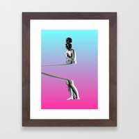 But Does It Float 2 Framed Art Print