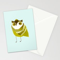 Golden Owl illustration  Stationery Cards