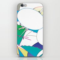 Color #4 iPhone & iPod Skin
