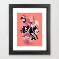 Over, Under, and Through Framed Art Print
