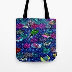 Midnight Mermaid Tote Bag