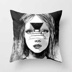 Beyond The Shadows Throw Pillow