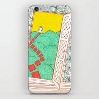 (Door) Il Me Semble Que … iPhone & iPod Skin