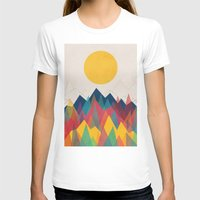 retro T-shirts featuring Uphill Battle by Picomodi