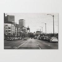 City Grain Canvas Print