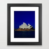 Sydney Blues-I've Got 'Em DPG151009b Framed Art Print