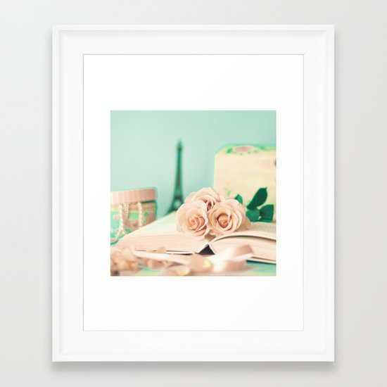 Soft Memories II Framed Art Print