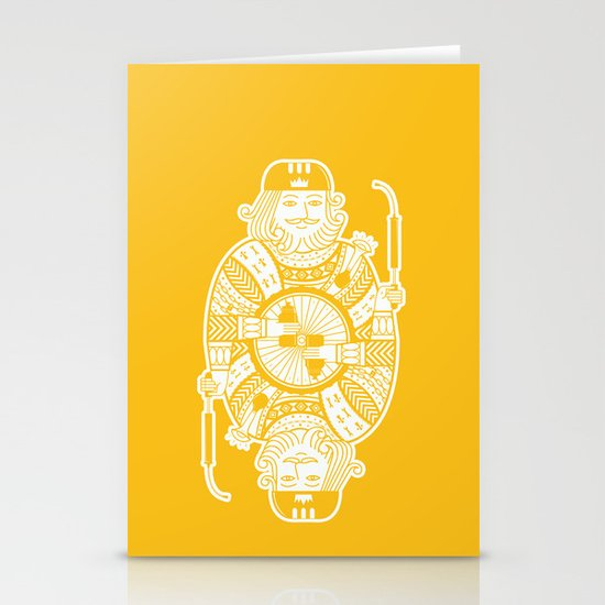 King of the road Stationery Card