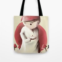 Jimmy And The Sleeping P… Tote Bag