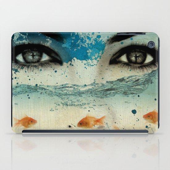 tear in the ocean iPad Case