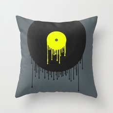 Simply Melting Away. Throw Pillow