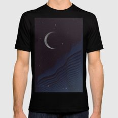 Waxing Cr3sc3nt Glytch Mens Fitted Tee Black SMALL