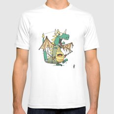 A Kobold in Dragon Clothing Mens Fitted Tee SMALL White