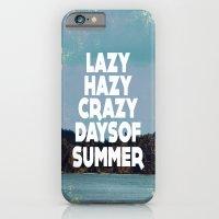 Lazy Days  iPhone 6 Slim Case