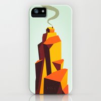 iPhone Cases featuring House by Dorian Danielsen