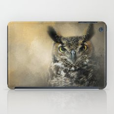 Golden Eyes iPad Case