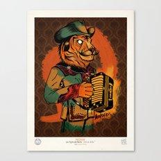 Jefe de Jefes Canvas Print
