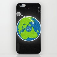 Music Makes The World Go Round iPhone & iPod Skin