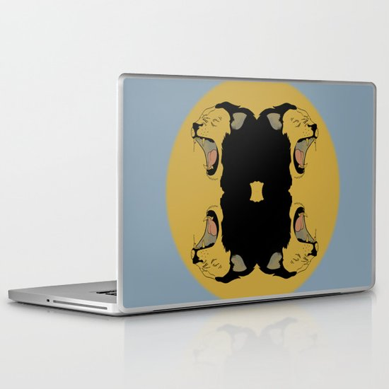Lion Roar Laptop & iPad Skin
