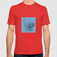 Meduza  Mens Fitted Tee Red SMALL