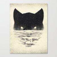 Wolfy Canvas Print