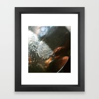 Abstract Spoon  Framed Art Print