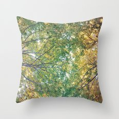 forest 014 Throw Pillow