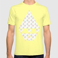 Bambino Mens Fitted Tee Lemon SMALL