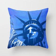 Liberty of New York Throw Pillow