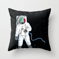 SPACE VISUAL ODYSSEY Throw Pillow