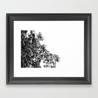 Polka dotted Tree Framed Art Print