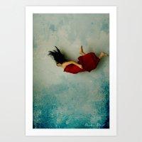 Endless River Art Print