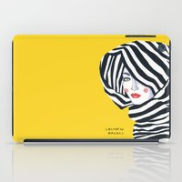 Lauren Bacall iPad Case