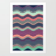 Patternwork XII Art Print