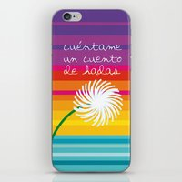 Cuéntame un cuento iPhone & iPod Skin