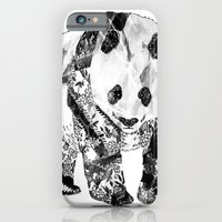 Tattooed Panda iPhone 6 Slim Case