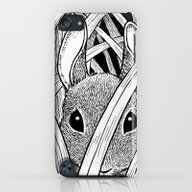 Bunny In The Grass iPod touch Slim Case