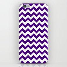 Chevron (Indigo/White) iPhone & iPod Skin