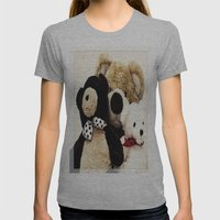 Bearily Bearily Womens Fitted Tee Athletic Grey SMALL