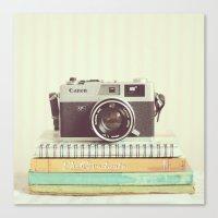 Canvas Print featuring Simple Canonet  by Mandy_faith