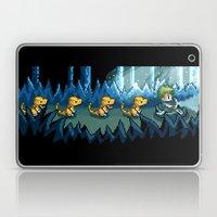 Pixel Jurassic World Laptop & iPad Skin