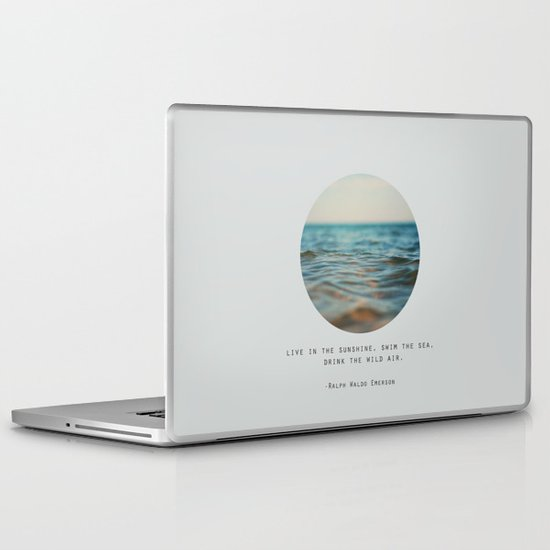 Swim The Sea Laptop & iPad Skin