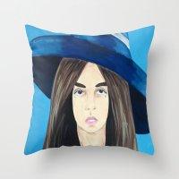 Woman 2 Throw Pillow