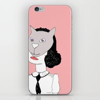 Catface  iPhone & iPod Skin
