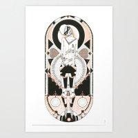 The Silent Assassin Art Print