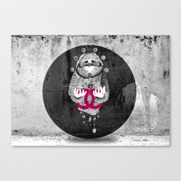Inuit spirit Canvas Print