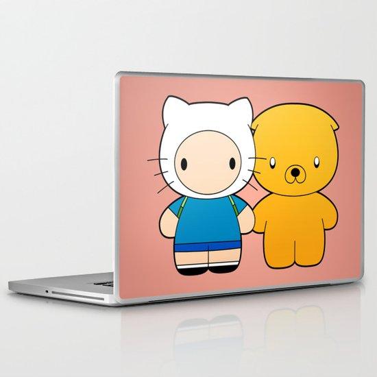 Hello Time Laptop & iPad Skin